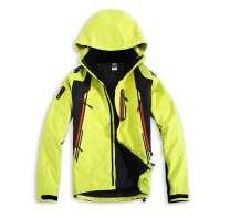厂家批发订做户外服装 三层压胶防风/防水两件套男士冲锋衣骑行服