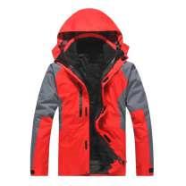 户外三合一空白光板登山冲锋衣防寒服 订做工衣 可印LOGO